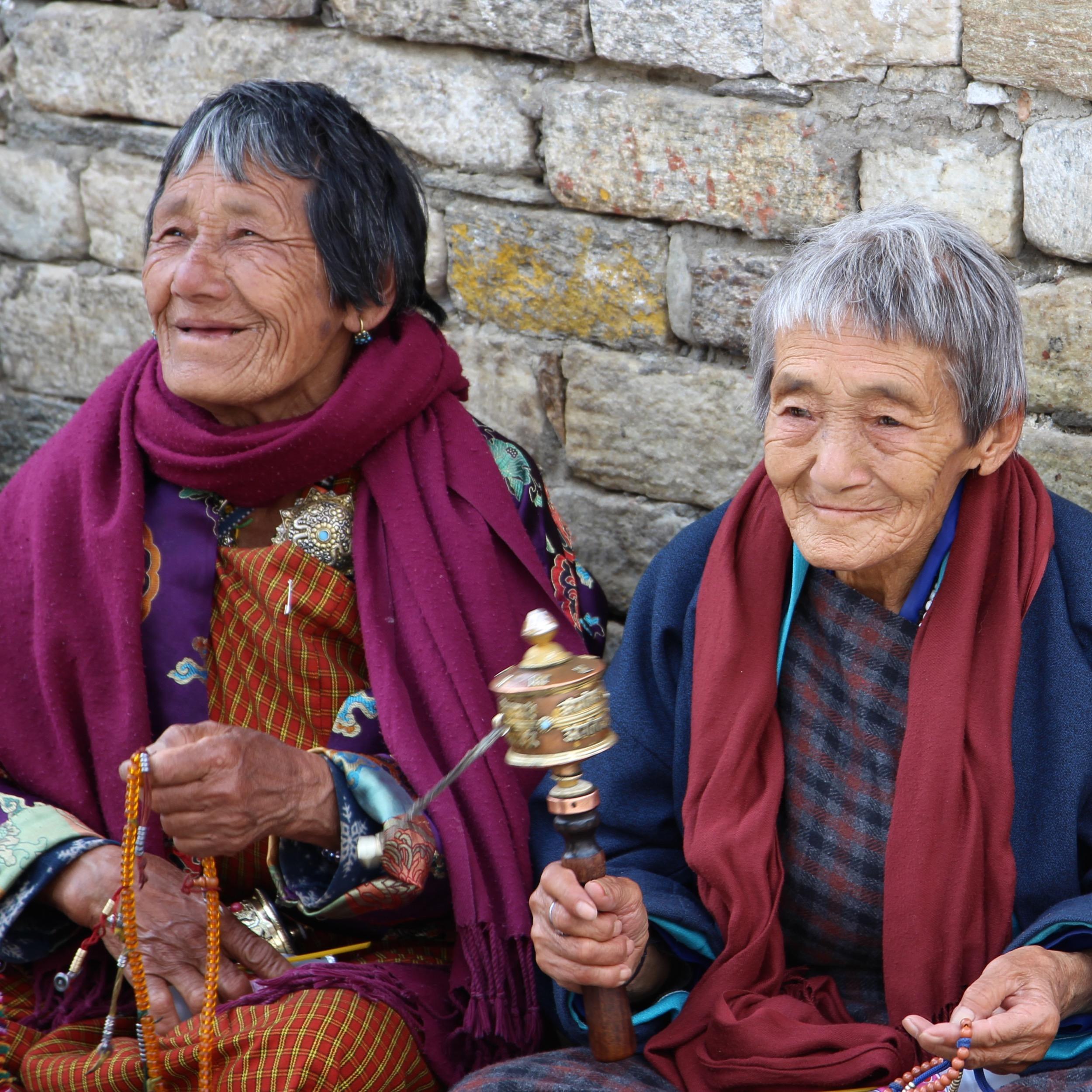 Bhoutan, ferveur, moulin à prière
