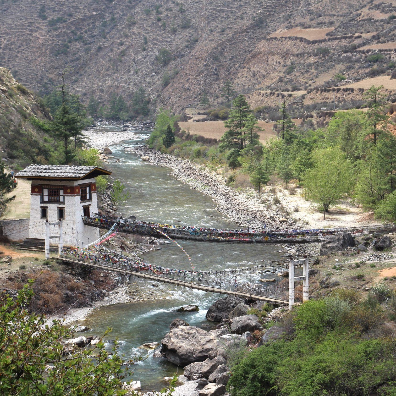 Bhoutan, pont