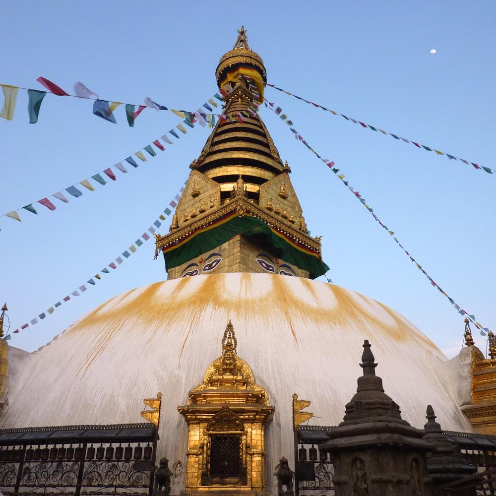 Nepal, Katmandou, Swayambudnath