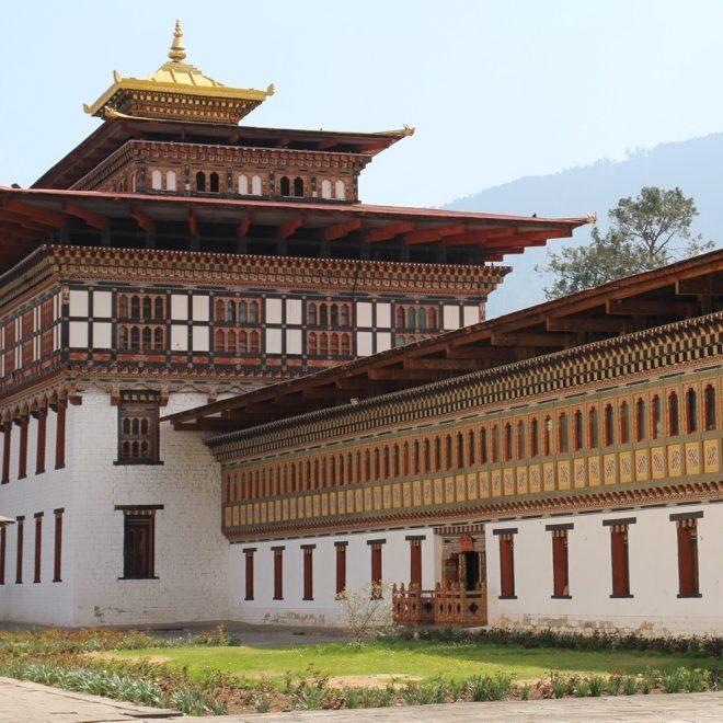 Bhoutan, dzong de Punakha